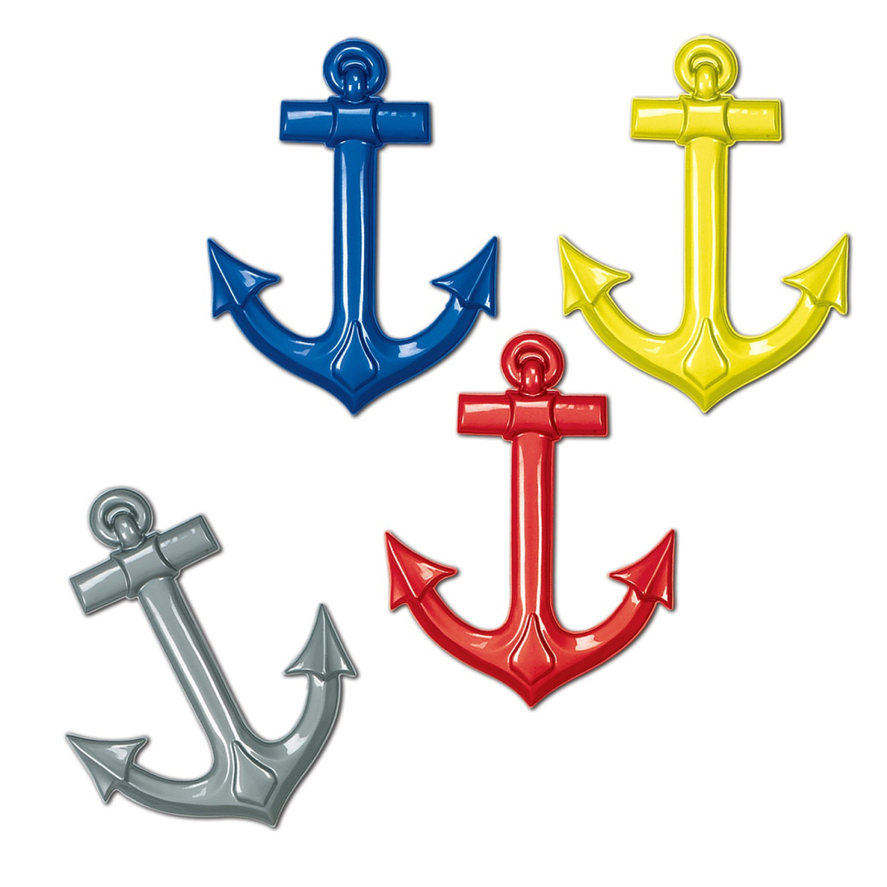 Club Pack Of 24 Multi Colored Nautical Themed Plastic Cruise Ship