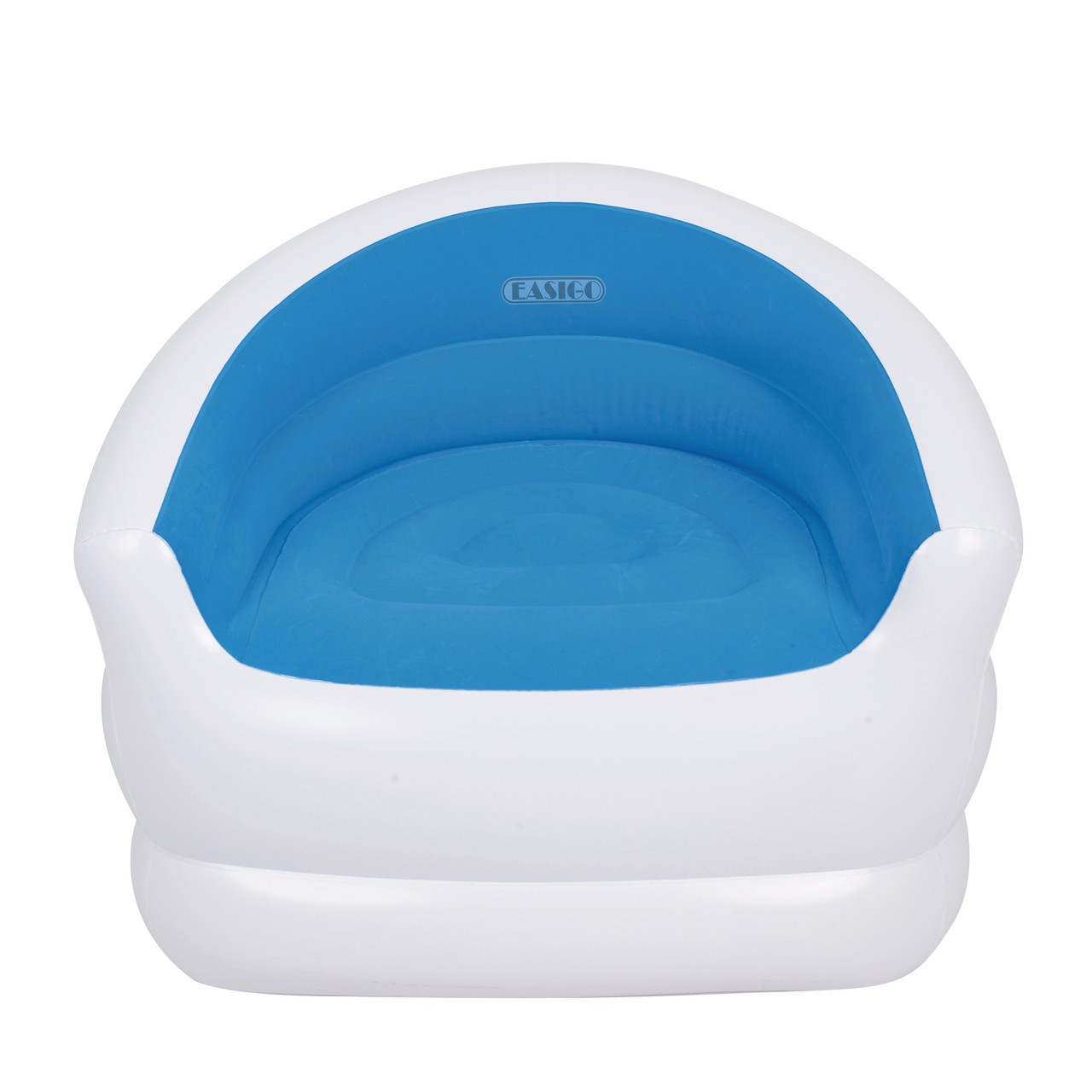 Super 37 White And Blue Color Splash Indoor Outdoor Inflatable Lounge Chair 32148652 Cjindustries Chair Design For Home Cjindustriesco