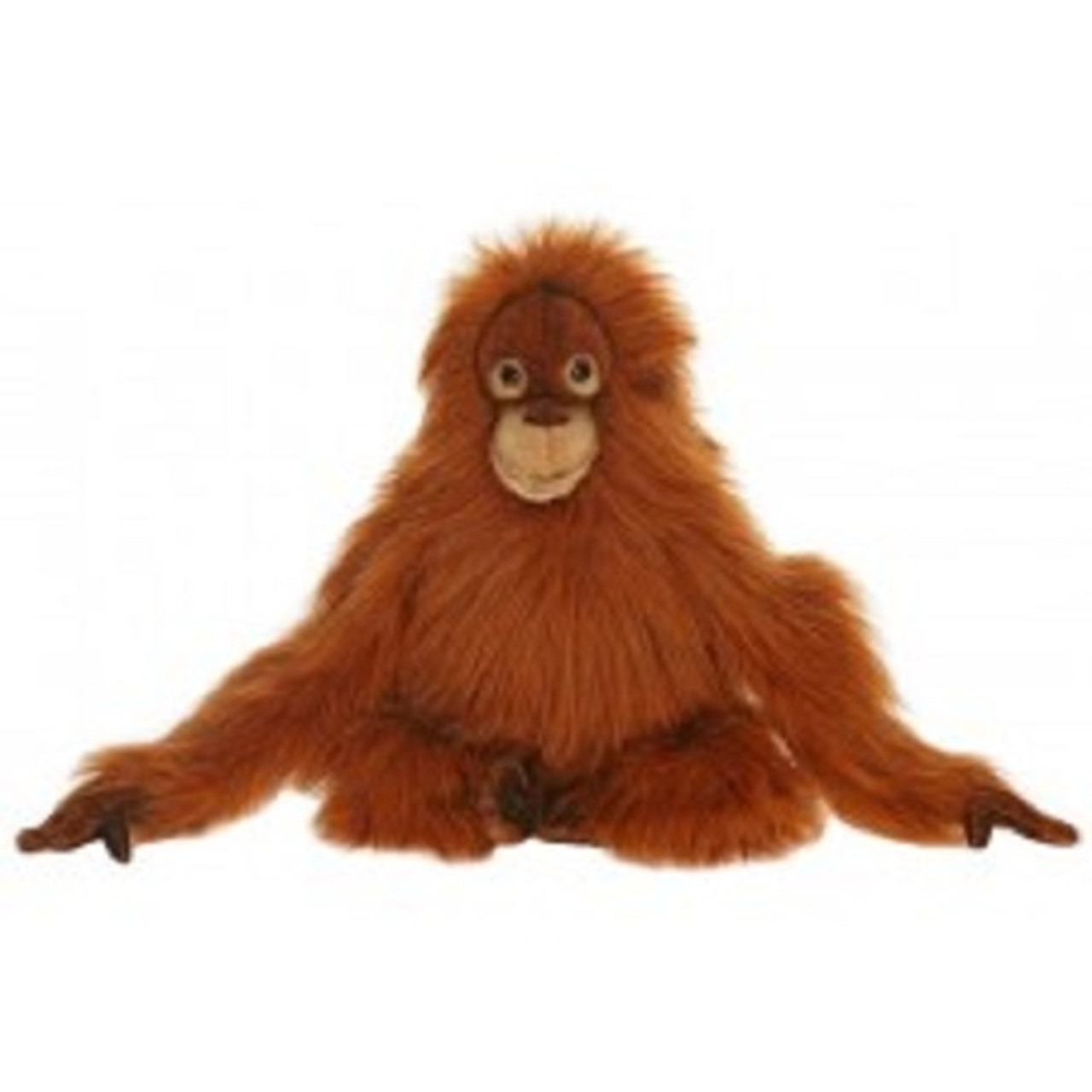 Set Of 2 Life Like Handcrafted Extra Soft Plush Orangutan Baby
