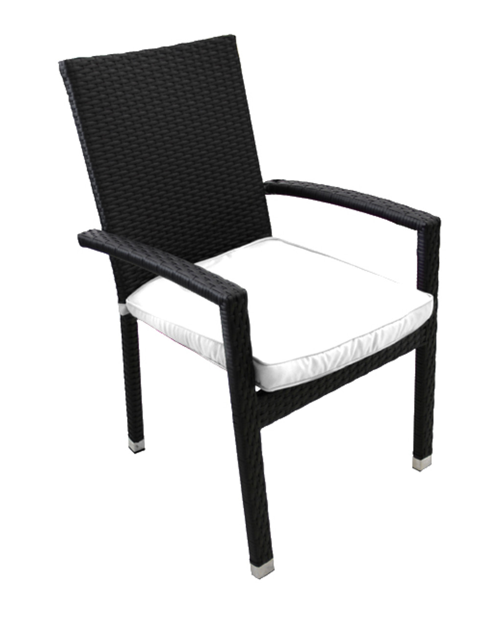 Awesome 7 Piece Black And White Resin Wicker Outdoor Furniture Patio Dining Set 70 5 28642829 Alphanode Cool Chair Designs And Ideas Alphanodeonline
