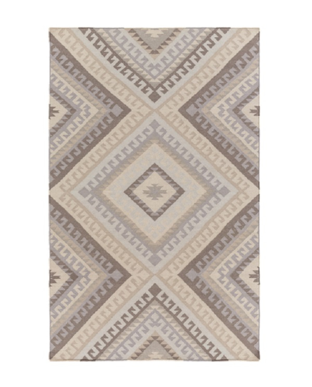 Christmas Area Rugs 8 X 10.8 X 10 Linear Roots Shades Of Beige Brown And Gray Hand Woven Area Throw Rug 32214045