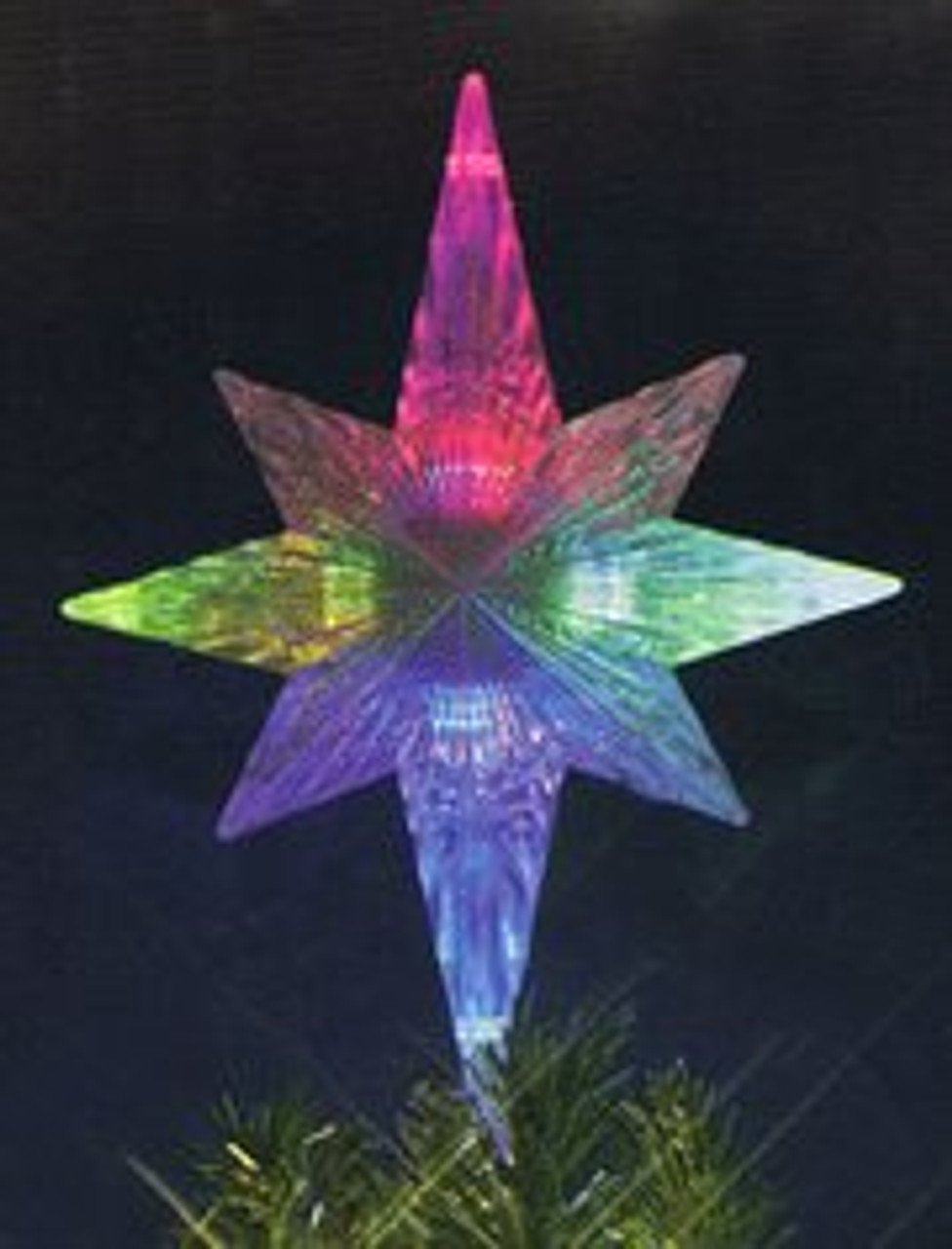 "11"" Lighted LED Color Changing Star Christmas Tree Topper ..."