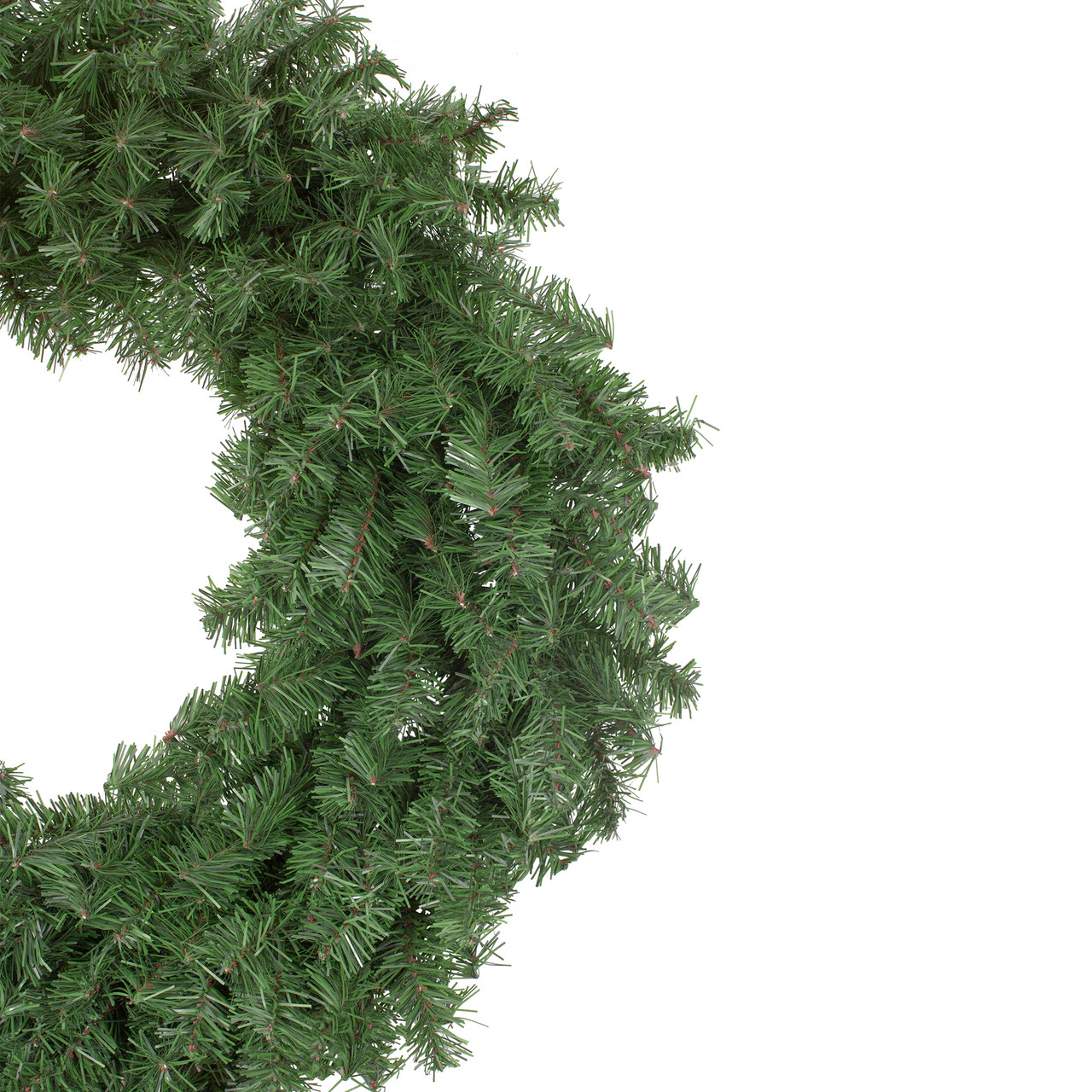 30 Canadian Pine Artificial Christmas Wreath Unlit Christmas