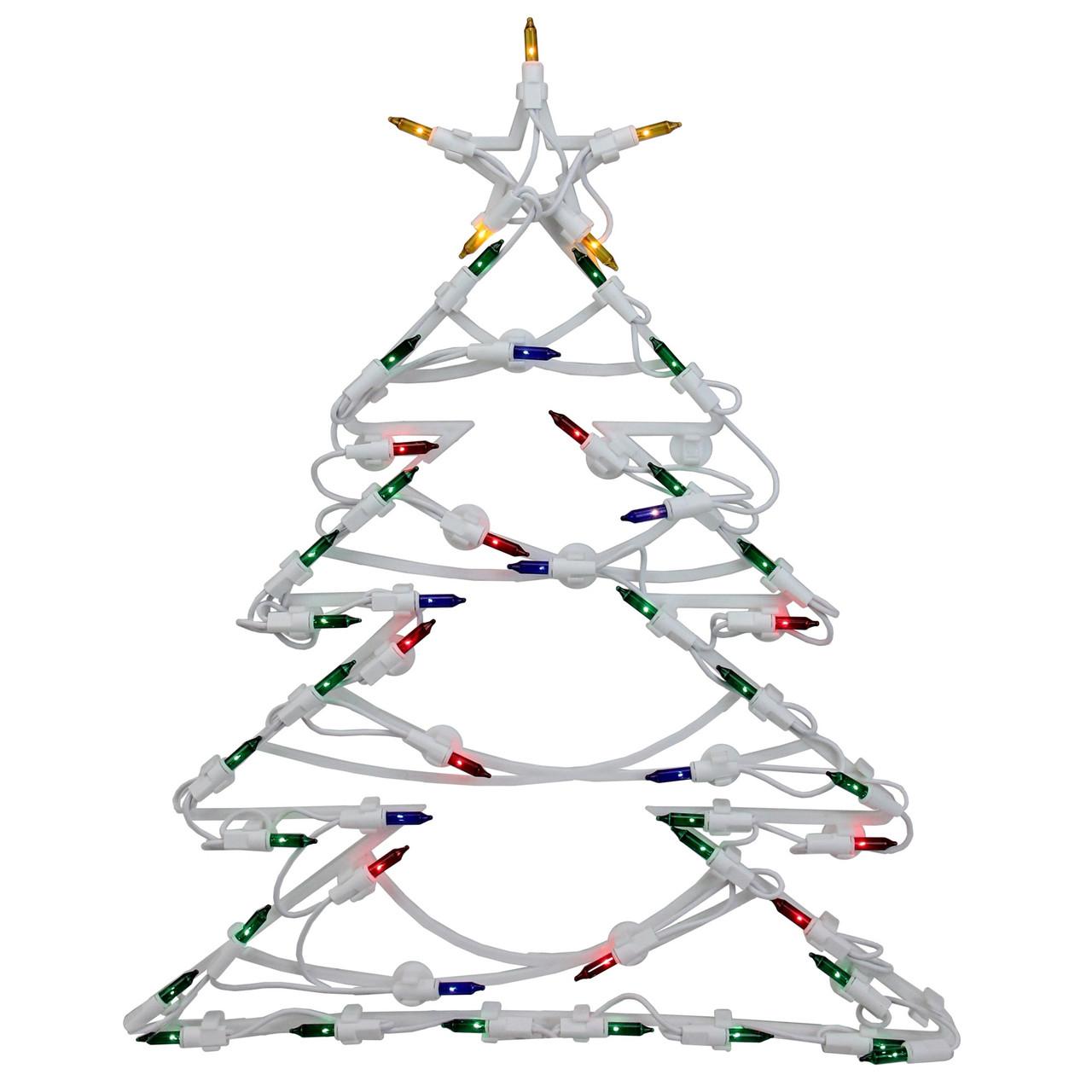 15 5 Led Lighted Christmas Tree Window Silhouette Decoration 32605991