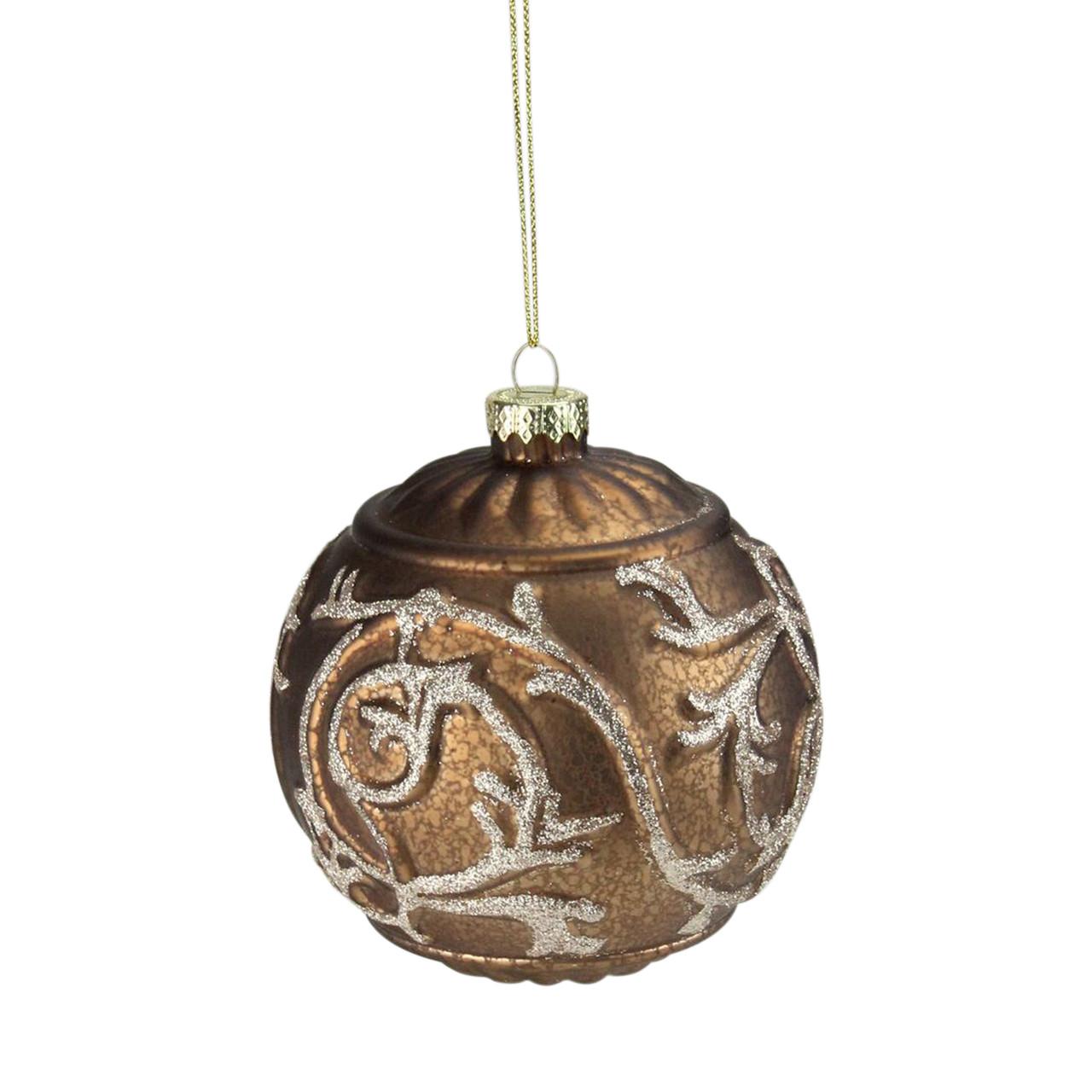 Cheer Glitter Ball ornament