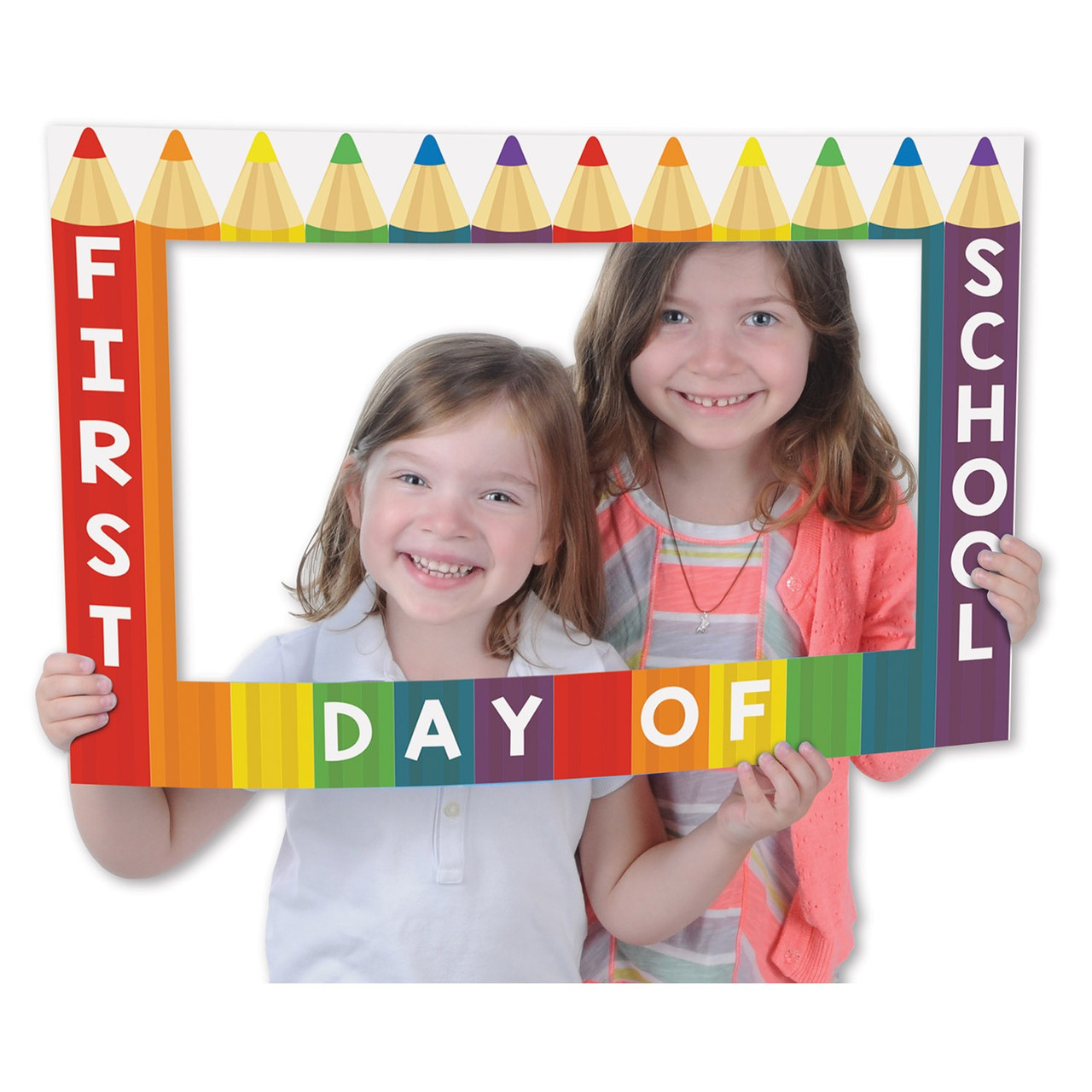 Club Pack Of 12 First Day Of School Digital Photo Fun Frame With