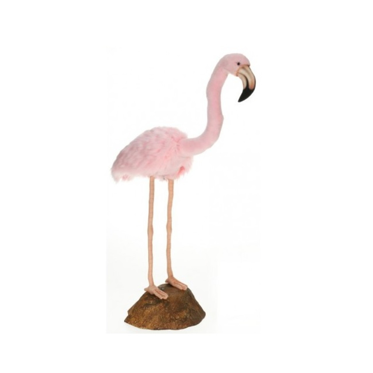 31 5 Handcrafted Life Size Plush Pink Flamingo Plush Animal With