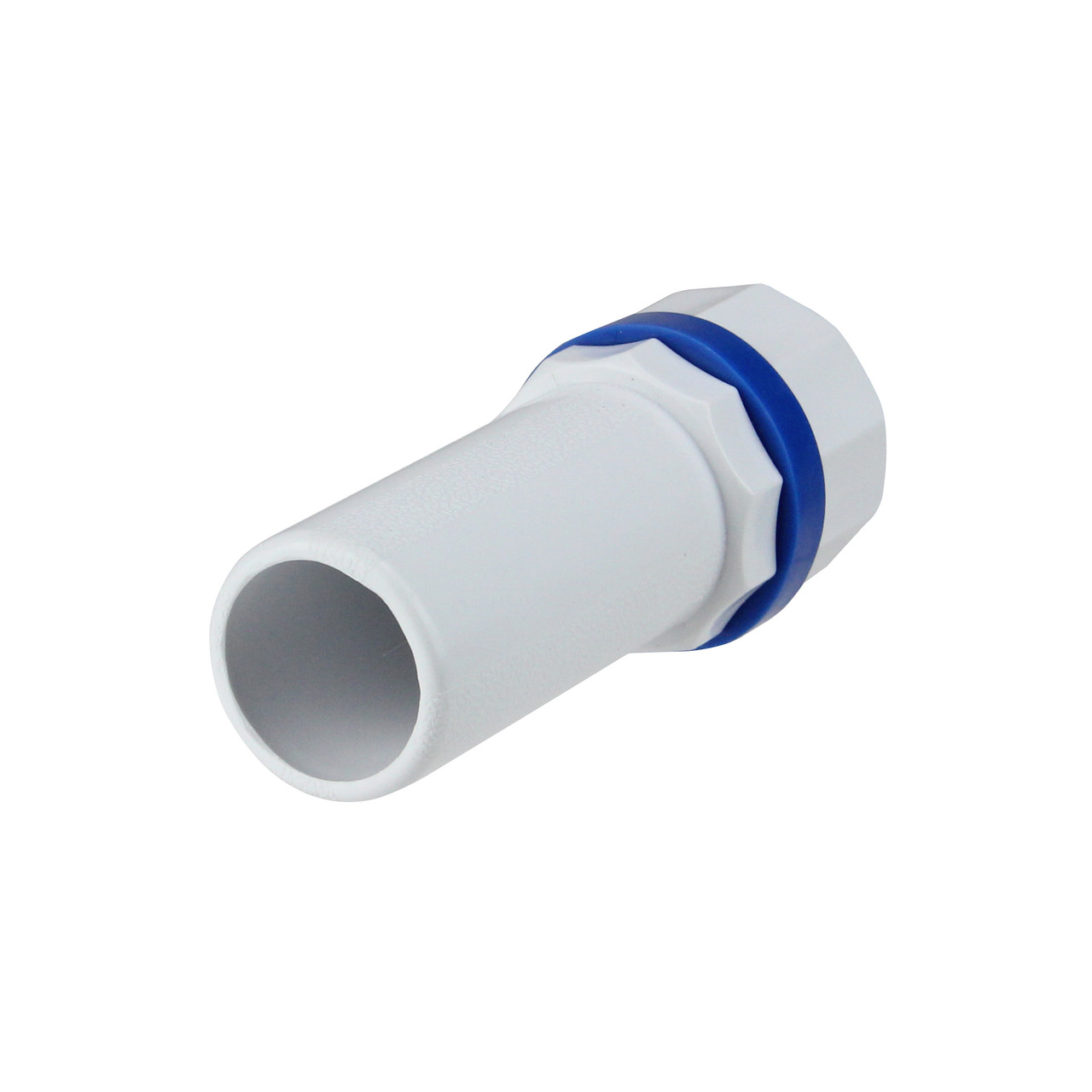 """1"""" White and Blue Deluxe Handle for Adjustable Swimming Pool Poles -  32803046"""