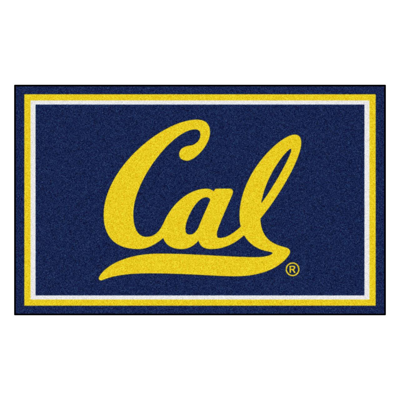 Berkeley Nylon Man Cave Starter Rug 19x30 NCAA University of California