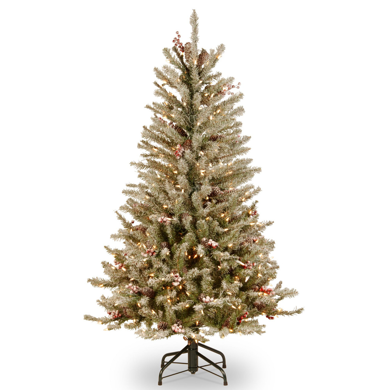 Dunhill Fir Christmas Tree.4 5 Dunhill Fir Slim Artificial Christmas Tree Clear Lights 31422993