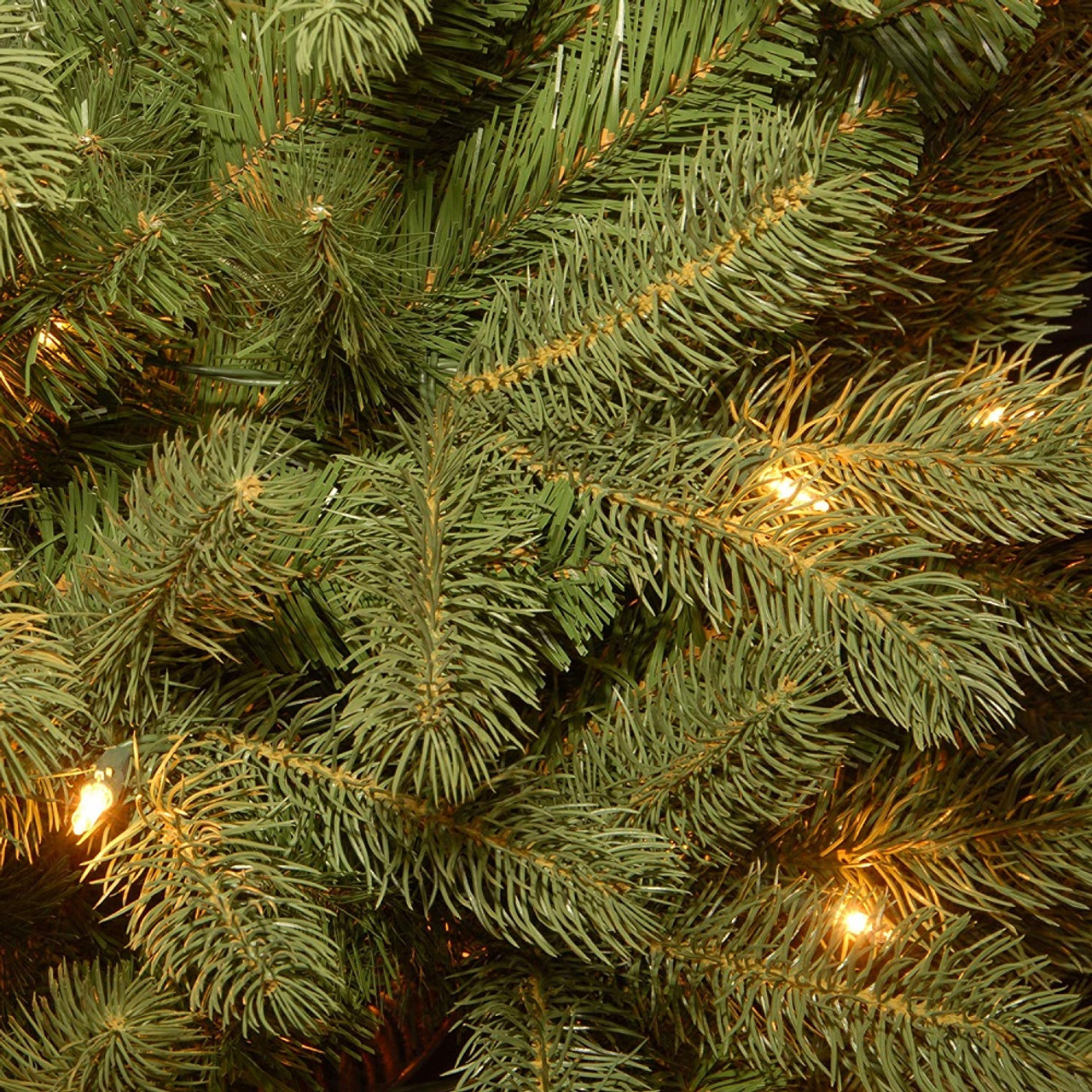 7 5 Pre Lit Downswept Douglas Slim Fir Artificial Christmas Tree Clear Lights 31423005