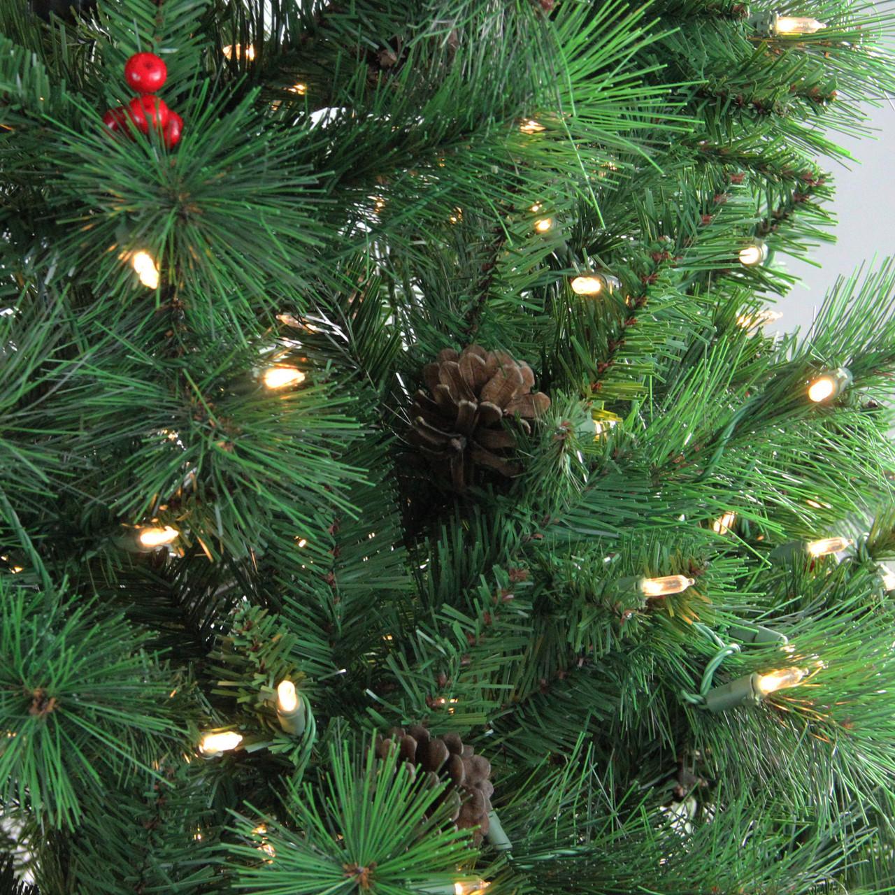 22aefd08c4e 6.5  Pre-Lit Denali Mixed Pine Artificial Christmas Tree - Dual LED ...