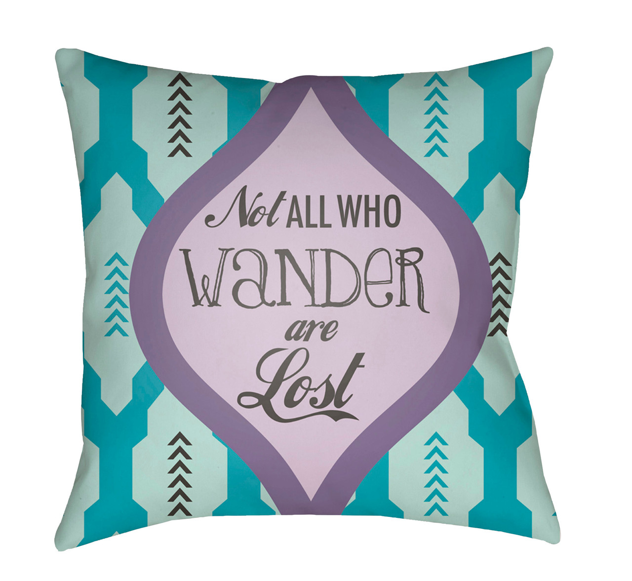 20 Lavender Blue Square Textured Throw Pillow Cover With Knife Edge Christmas Central