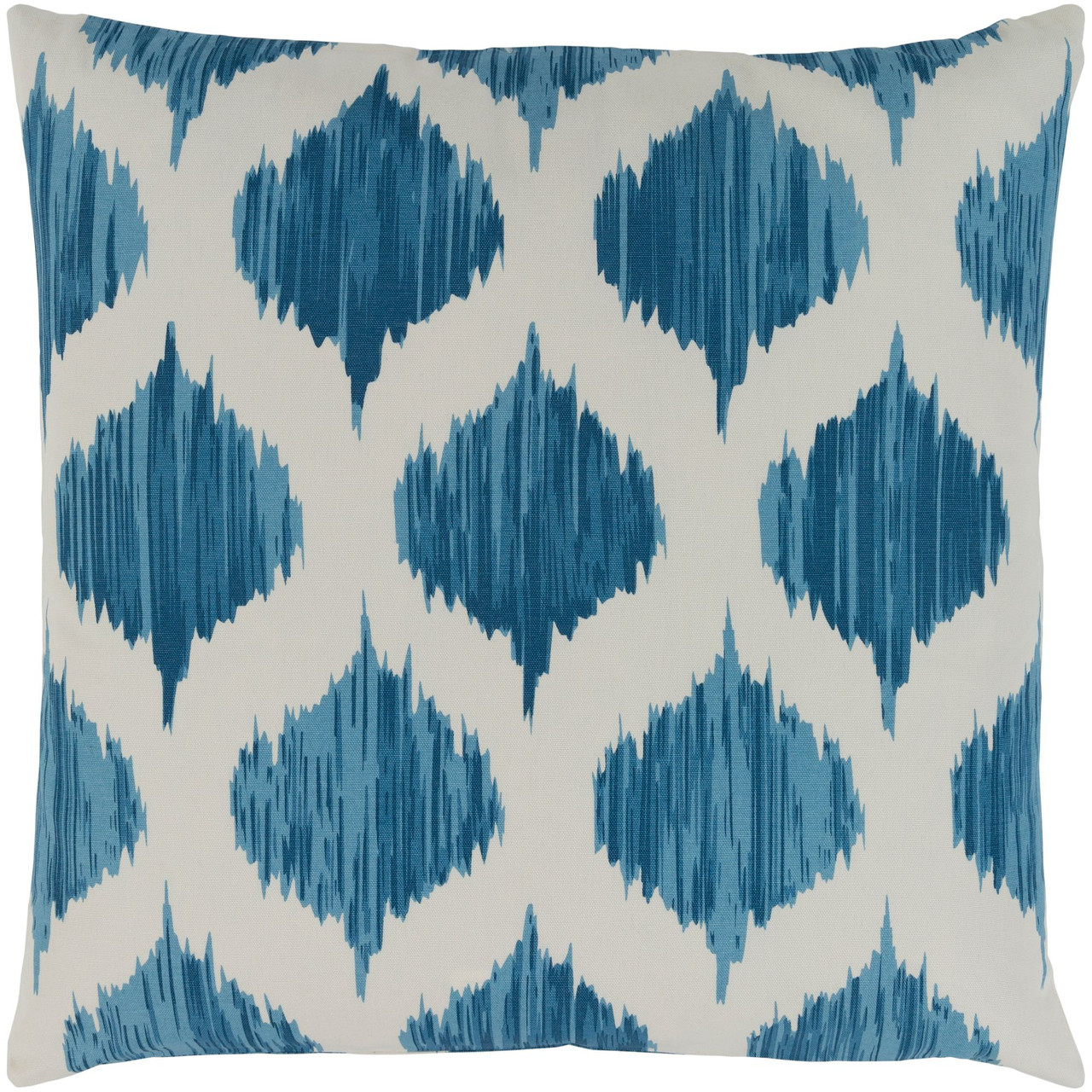 18 Blue White Seamless Patterned Square Throw Pillow Cover Christmas Central