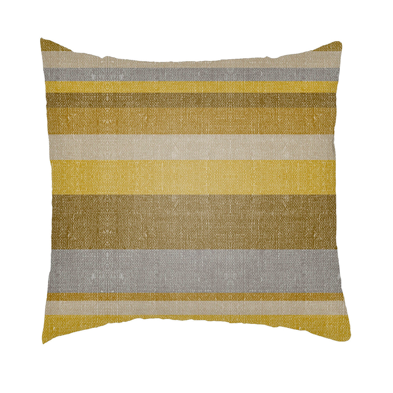 24 Mustard Yellow Gray Striped Rectangular Throw Pillow Cover Christmas Central