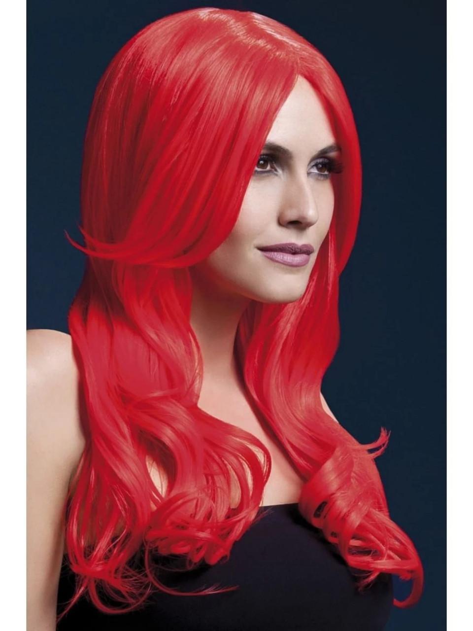 Smiffys Glam Wig Aqua
