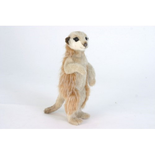 """Pack of 3 Life-like Handcrafted Extra Soft Plush Meerkat Stuffed Animals 13"""" - IMAGE 1"""