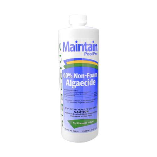 Maintain Pool Pro Non-Foam Algaecide Cleaner - 1 Quart - IMAGE 1