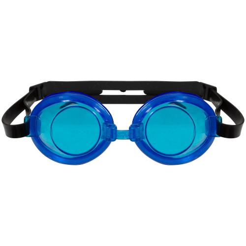 """7"""" Blue Anti-Leak Adjustable Swimming Pool Goggles - IMAGE 1"""
