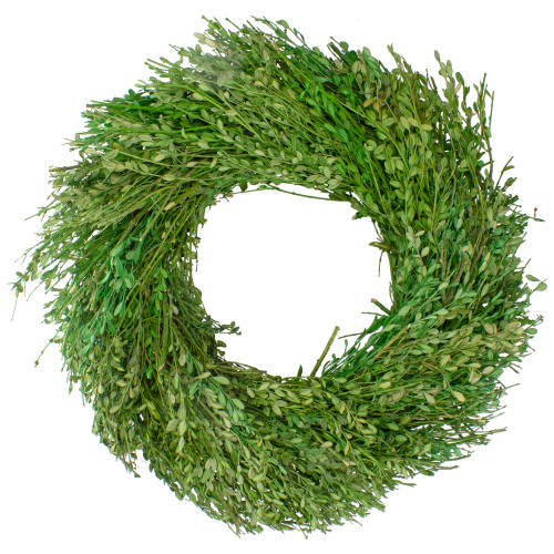 Green Foliage Artificial Spring Wreath, 20-Inch - IMAGE 1