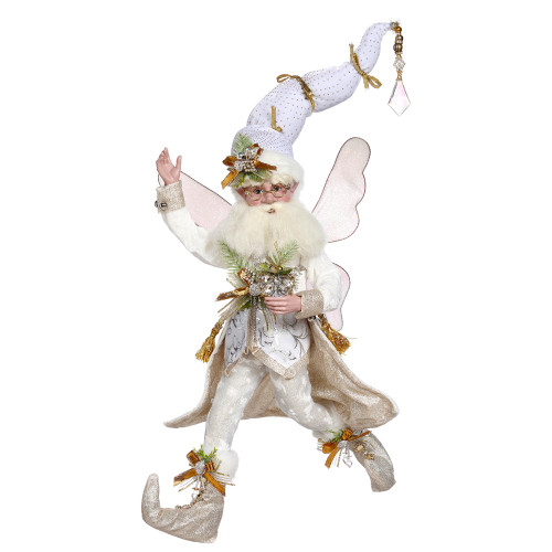 Mark Roberts Snowy White Christmas Fairy, Large 19-inch - IMAGE 1