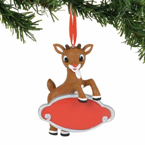 Department 56 Rudolph the Red-Nosed Reindeer Christmas Ornament #6000321 - IMAGE 1