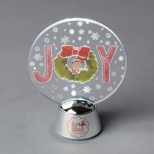 """Department 56 Elf on the Shelf """"JOY"""" Christmas Holidazzler #6000371 - IMAGE 1"""