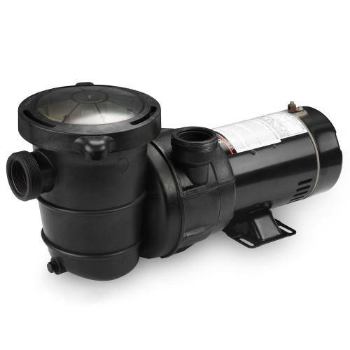 Self-Priming Above-Ground Swimming Pool Pump, 1 HP - IMAGE 1