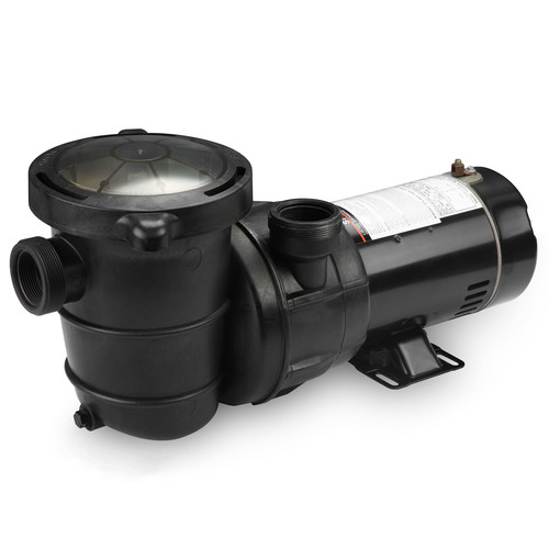 Self-Priming Above-Ground Swimming Pool Pump, 1.5 HP - IMAGE 1