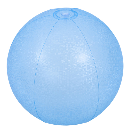 "20"" Blue Mosaic Inflatable Beach Ball - IMAGE 1"