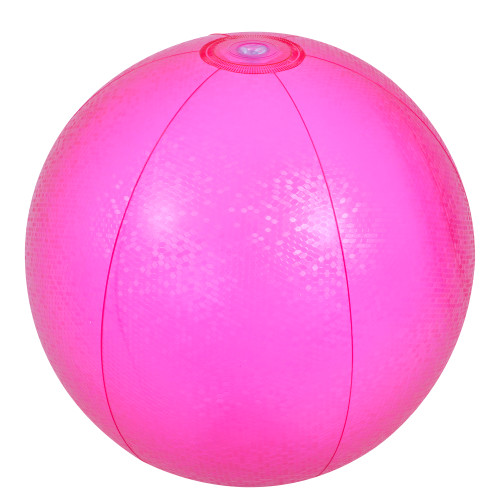 """20"""" Pink Mosaic Inflatable Beach Ball - IMAGE 1"""