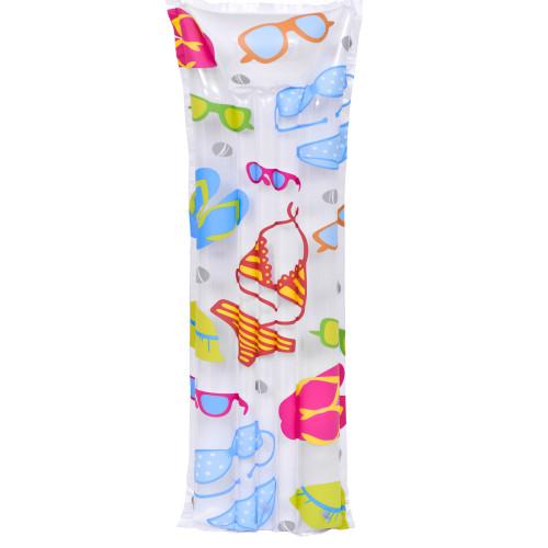"72"" Inflatable Bikini and Sunglasses Pool Float - IMAGE 1"