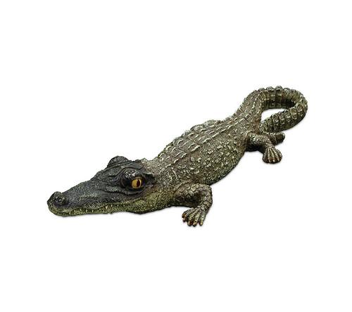 "18"" Baby Alligator Floating Pool, Spa or Patio Decorative Reptile Figure - IMAGE 1"