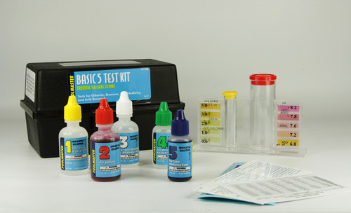 Basic 5-Way Swimming Pool Test Kit - IMAGE 1