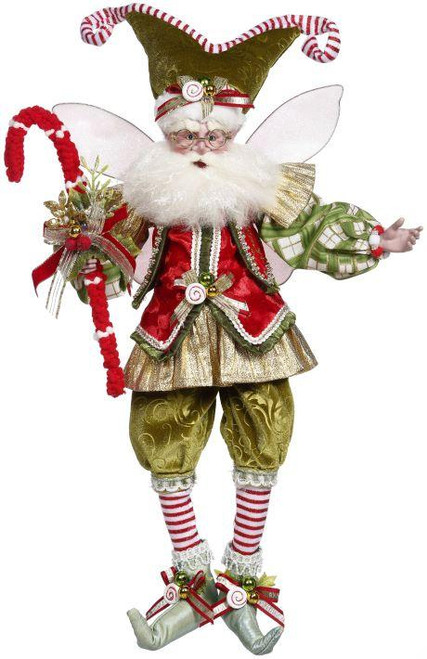 """Mark Roberts Collectable Candycane Dreams Fairy - Large 19"""" #51-16396 - IMAGE 1"""