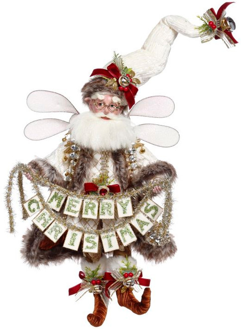 """Mark Roberts Collectable Merry Christmas Fairy - Medium 16.25"""" #51-16496 - IMAGE 1"""