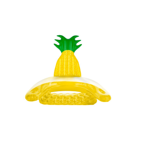 """60"""" Inflatable Pineapple Swimming Pool Sling Chair Pool Float - IMAGE 1"""