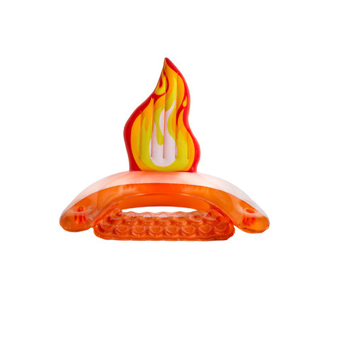 """60"""" Inflatable Flame Swimming Pool Sling Chair Pool Float - IMAGE 1"""