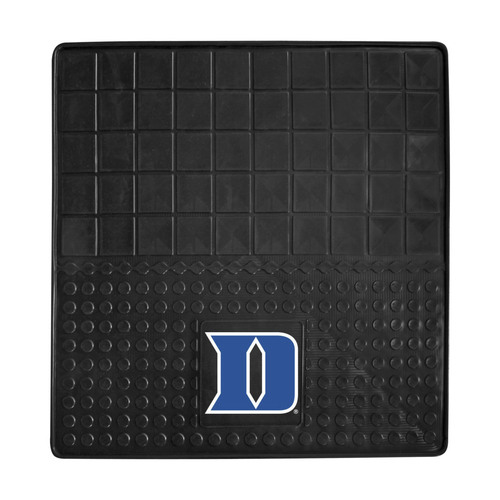"""31"""" x 31"""" Black and Blue NCAA Devils Cargo Mat for Car Trunk - IMAGE 1"""