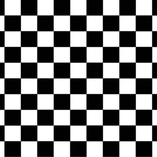 Pack of 6 Black and White Checkered Racing Photo Backdrop Wall Decor 30' - IMAGE 1