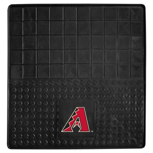 "31"" x 31"" Black and Red MLB Arizona Diamondbacks Cargo Mat for Car Trunk - IMAGE 1"