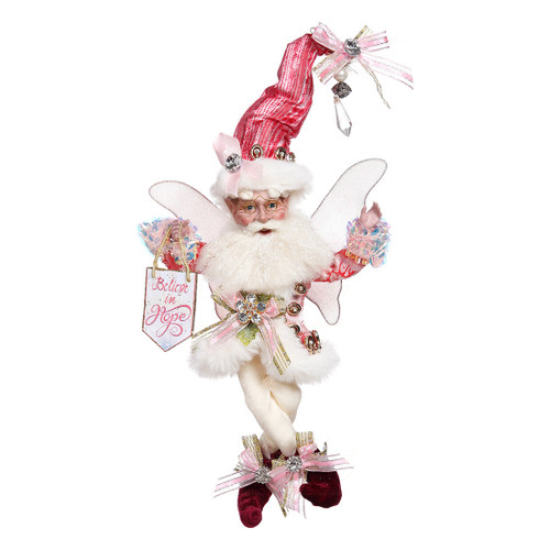 """Mark Roberts Spirit of Hope Breast Cancer Awareness Fairy - Small 10"""" #51-16512 - IMAGE 1"""