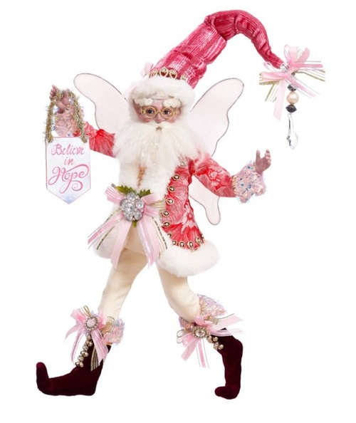 "Mark Roberts Spirit of Hope Breast Cancer Awareness Fairy - Medium 15"" #51-16514 - IMAGE 1"