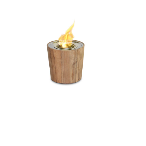 Anywhere Fireplace Indoor/Outdoor Fireplace - Sag Harbor Teak Fire Bowl - IMAGE 1