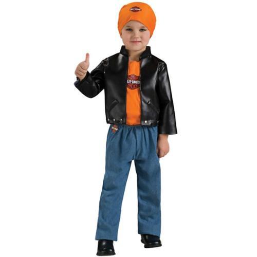 Toddlers Harley Davidson Boy's Lil' Cruiser Halloween Costume - 12M-2T - IMAGE 1