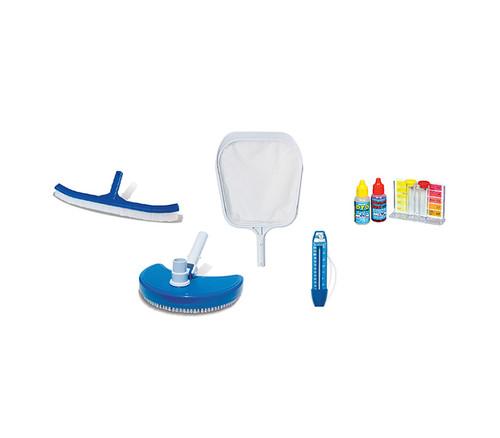"17.5"" Blue Basic Vinyl Swimming Pool Maintenance Kit - IMAGE 1"