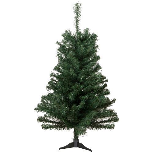 2' Medium Noble Pine Artificial Christmas Tree - Unlit - IMAGE 1