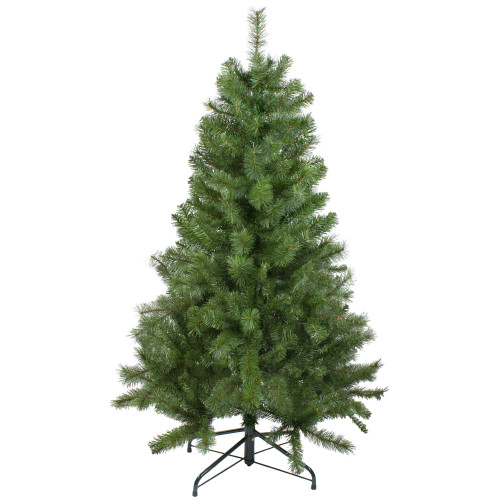 "4.5' x 35"" Medium Mixed Pine Artificial Christmas Tree - Unlit - IMAGE 1"