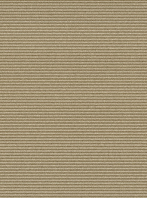 2' x 3' Solitary Sand Tan Brown Hand Knotted Rectangular Area Throw Rug - IMAGE 1