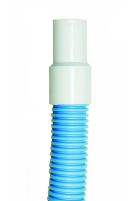 "Blue and White HydroTools Vacuum Swimming Pool Hose 1.5"" x 45' - IMAGE 1"